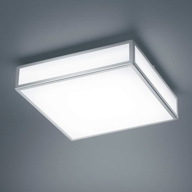Plafondlamp Zelo IP44 Vierkant Groot