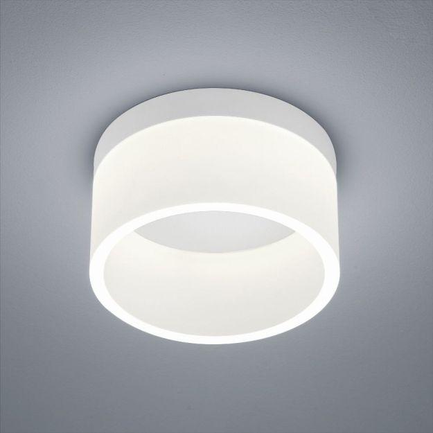Plafondlamp Helestra Liv IP30 Wit