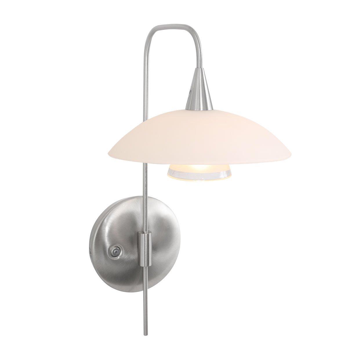 Wandlamp Steinhauer Tallerken 1L Staal
