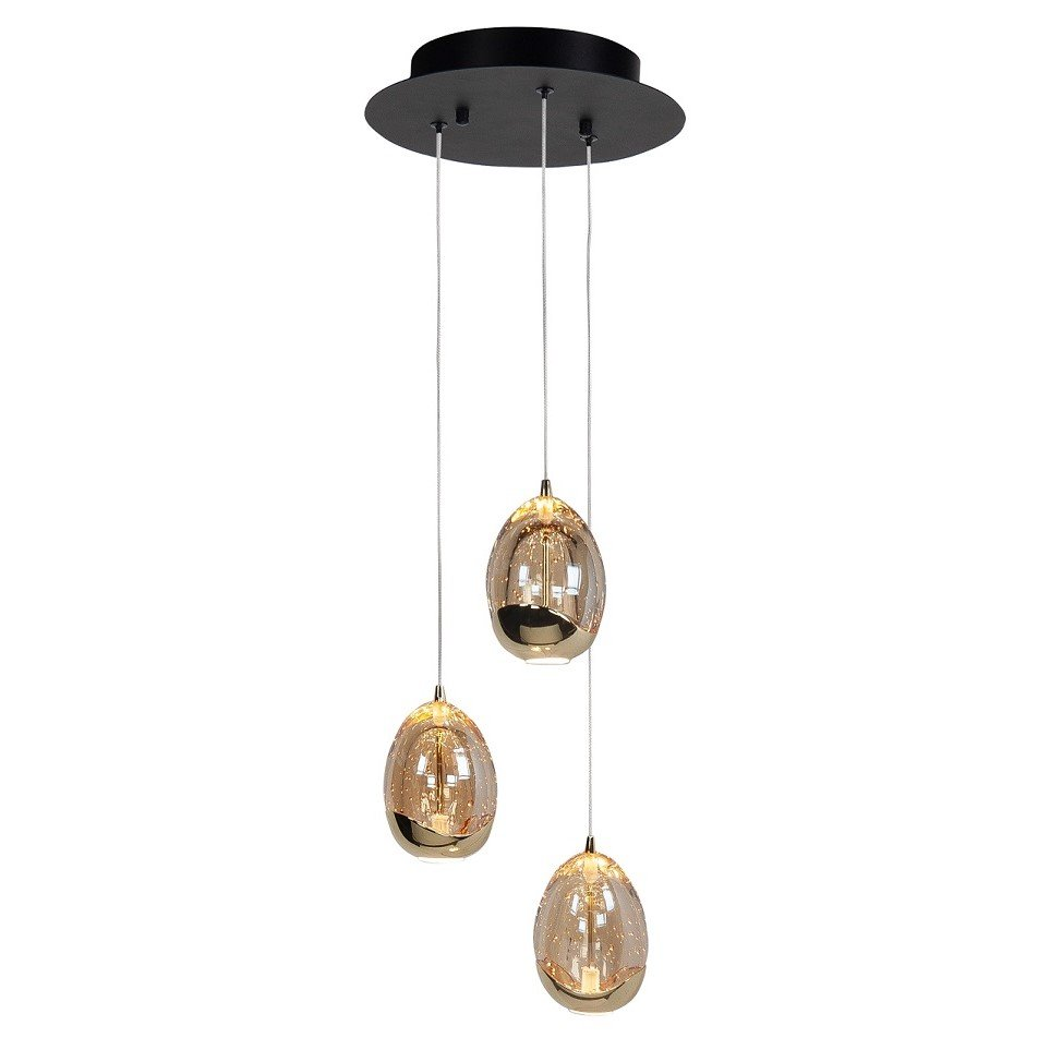Hanglamp Highlight Golden Egg 3L Rond