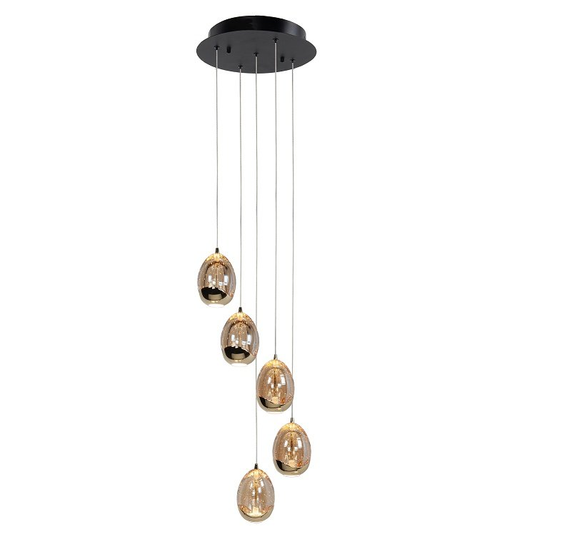 Hanglamp Highlight Golden Egg 5L Rond