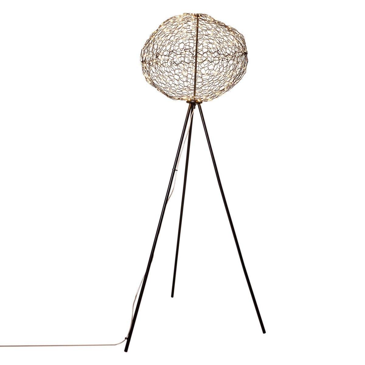 Vloerlamp By Rydens Hayden Zwart