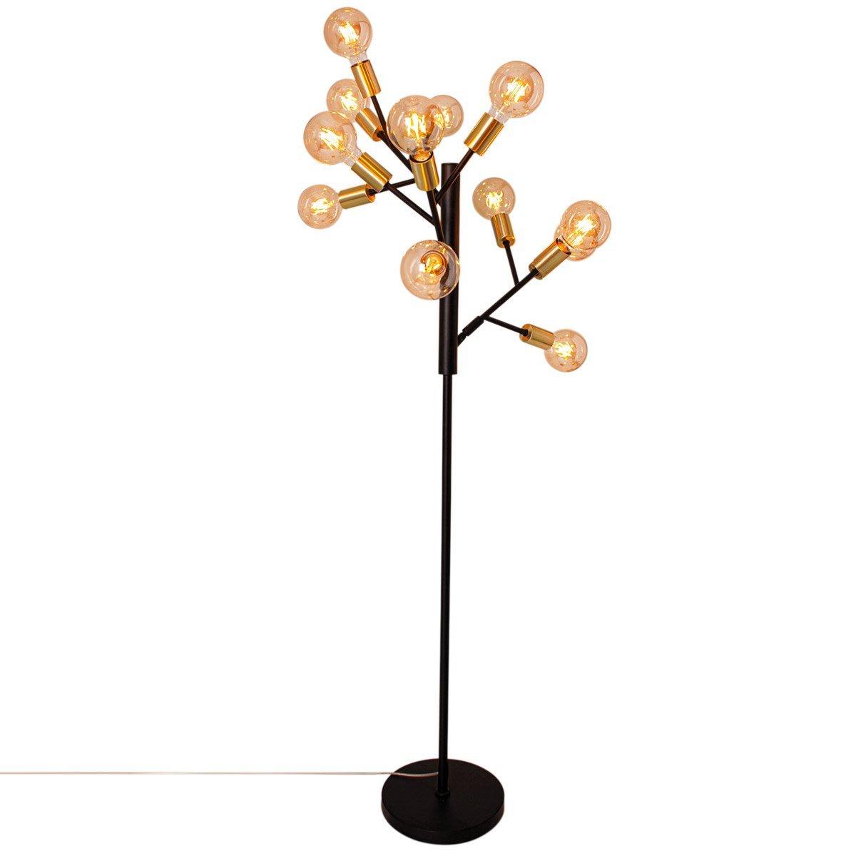 Vloerlamp By Rydens Heroes Zwart Goud