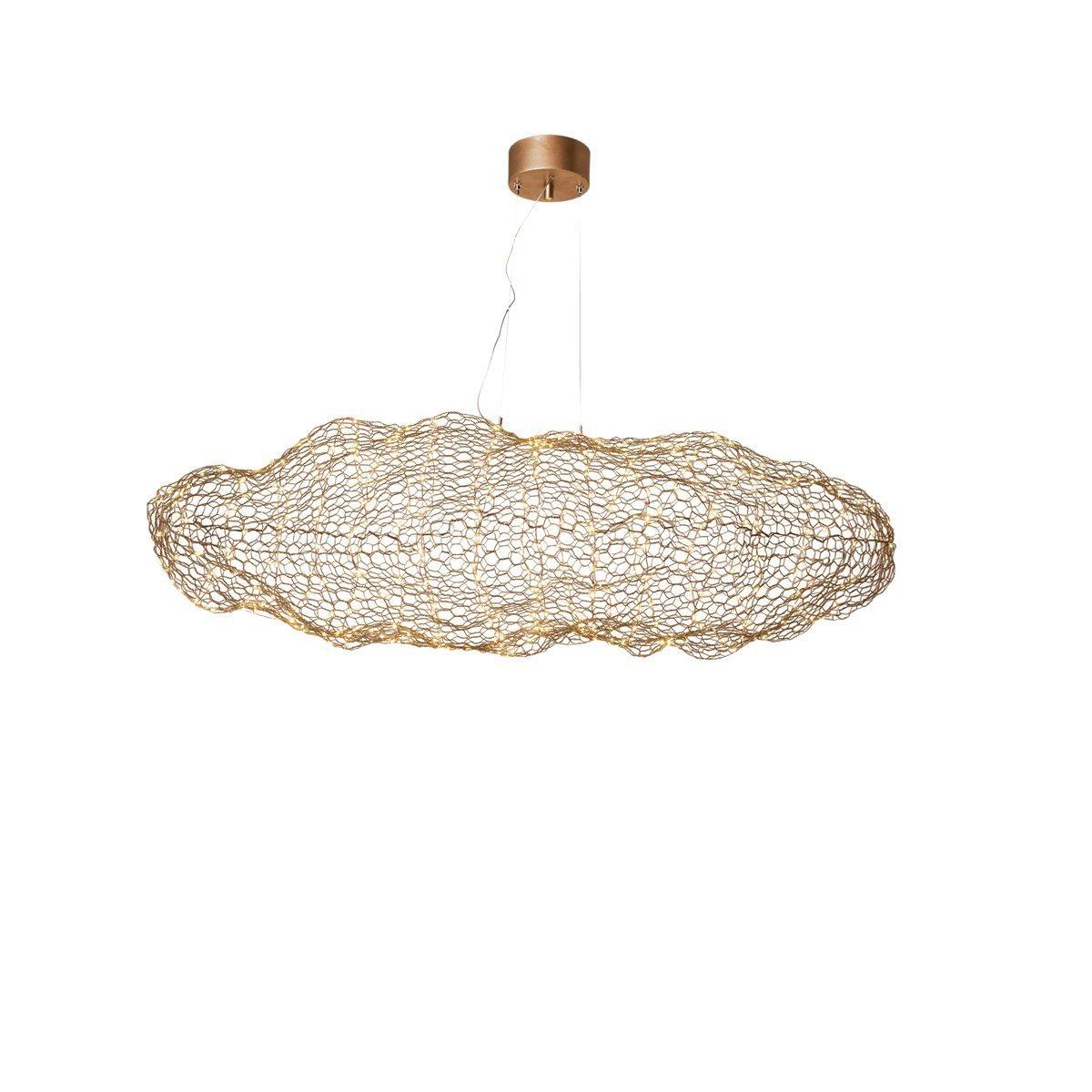 Hanglamp By Rydens Hayden Gold 76cm