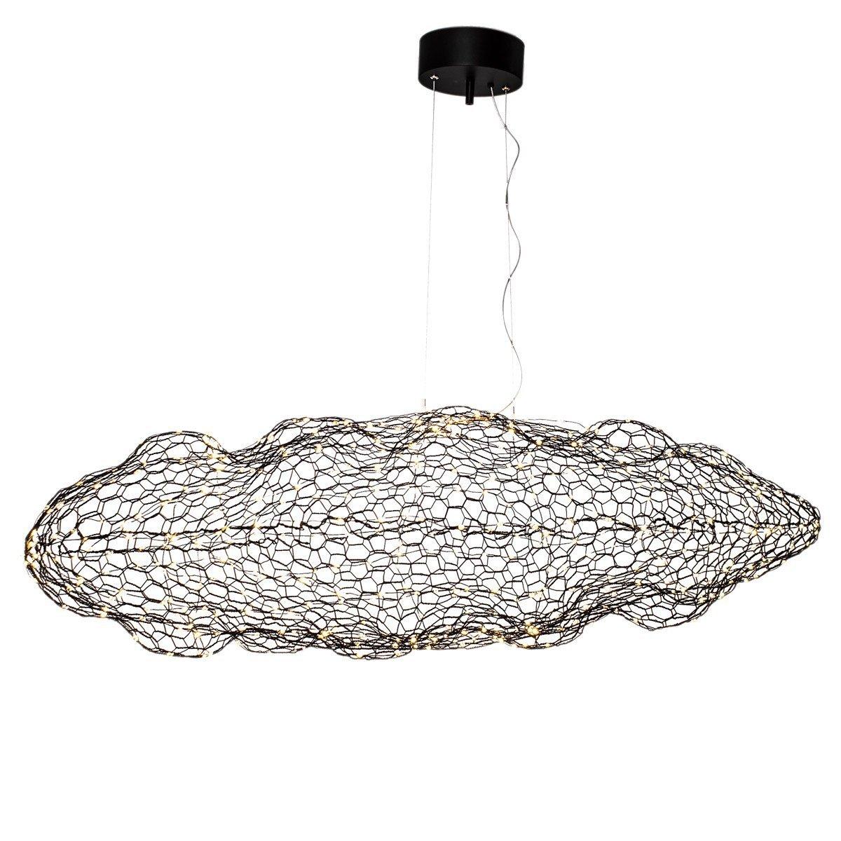 Hanglamp By Rydens Hayden Zwart 115CM