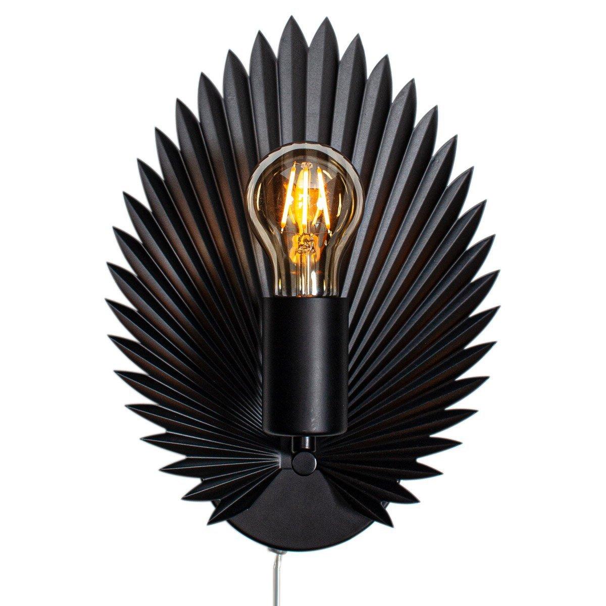 Wandlamp By Rydens Aruba Zwart