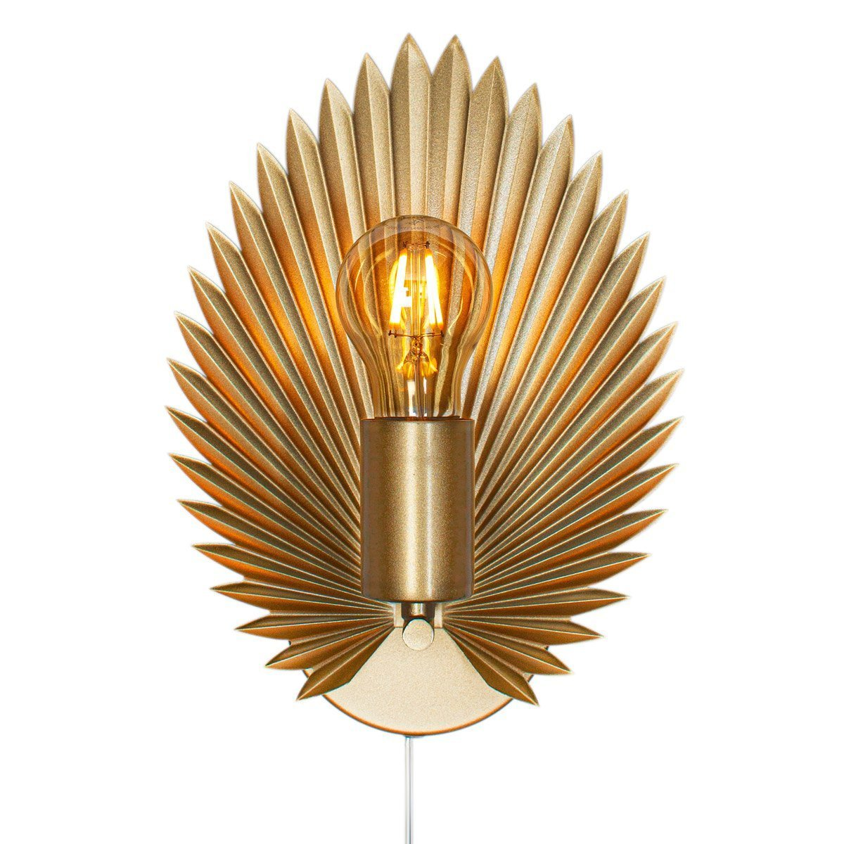 Wandlamp By Rydens Aruba Goud