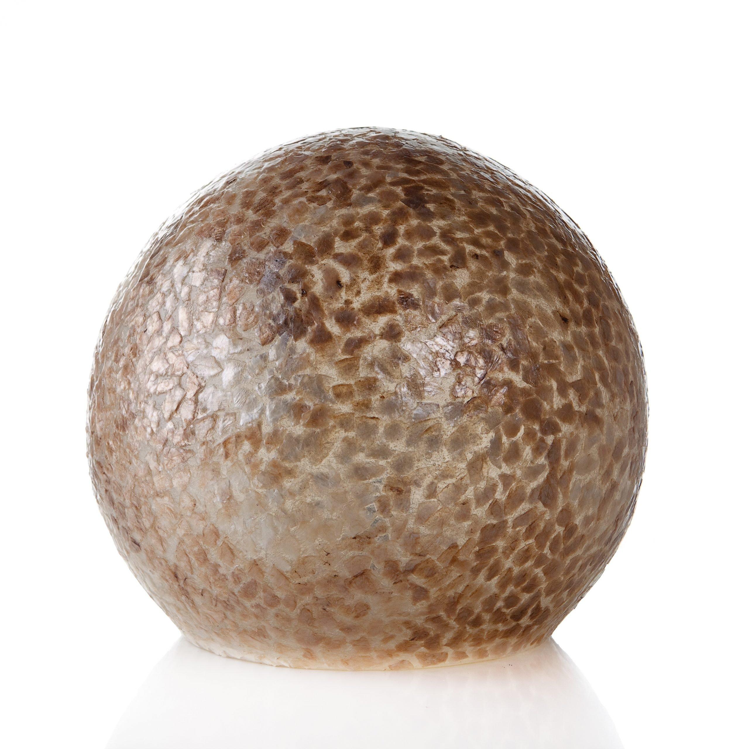Tafellamp Wangi Gold Ball 30cm