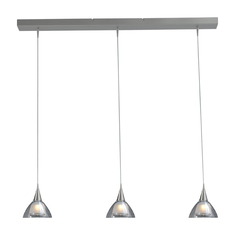 Masterlight Hanglamp Caterina 3Lichts Balk 100cm