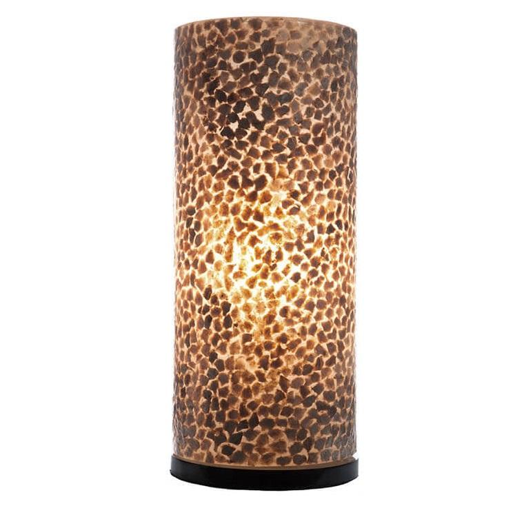 Tafellamp Wangi Gold Cilinder 40cm