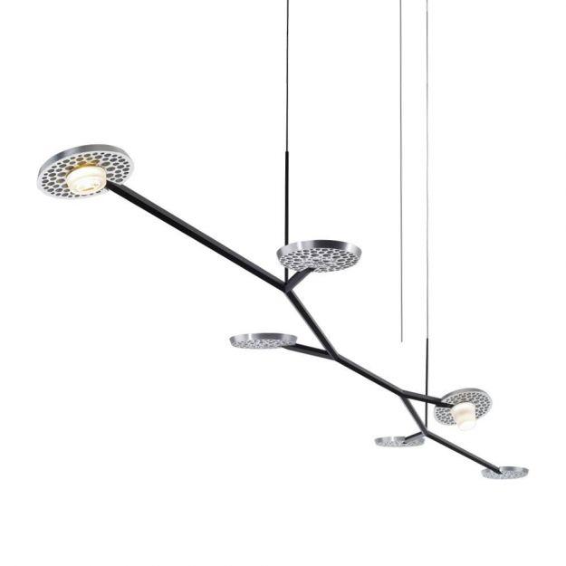 Hanglamp Lys Baltensweiler Alu Zwart