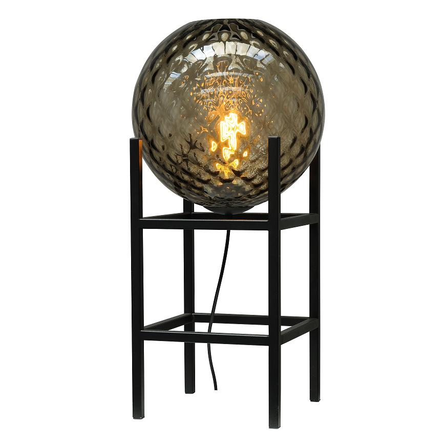 Tafellamp Masterlight Baloton 45cm Smoke Glass 30CM