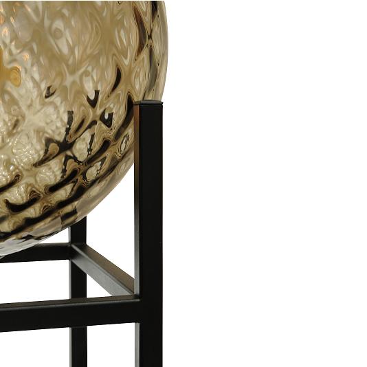 smokey glas lamp