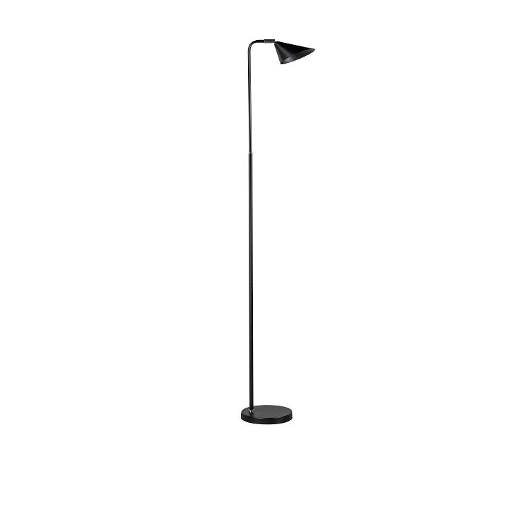 ETH Expo Vloerlamp Galvani Zwart 3 Standen Dimbaar