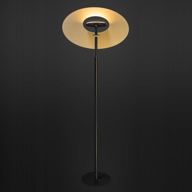 Vloerlamp Ilfari Eye In The Sky Zwart Goud
