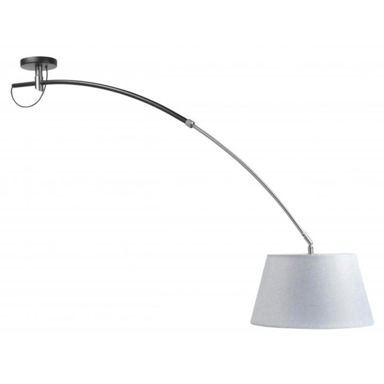 Hanglamp Highlight Arc Zwart Inclusief Kap
