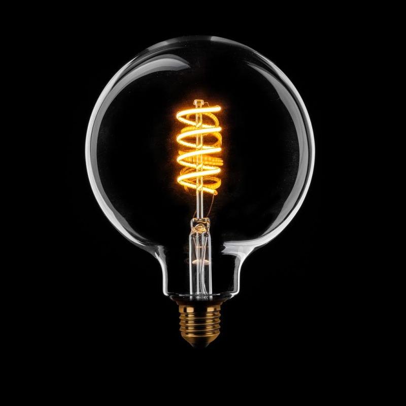 Dimbare Led Lamp Globe 125 Filament Helder