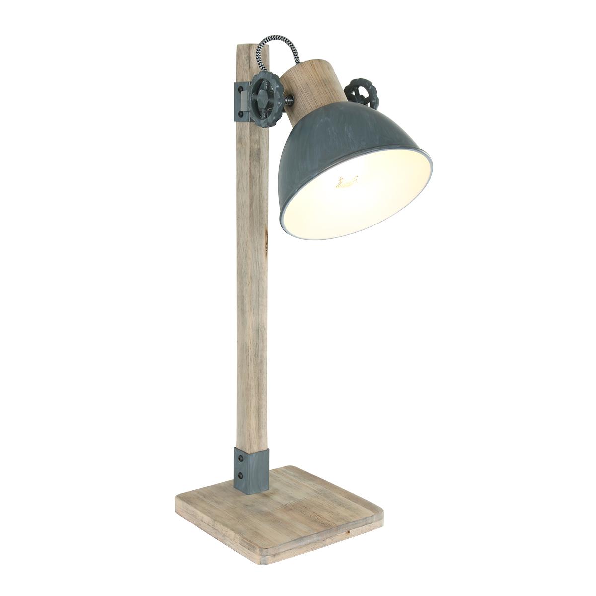 Tafellamp Steinhauer Gearwood Grijs