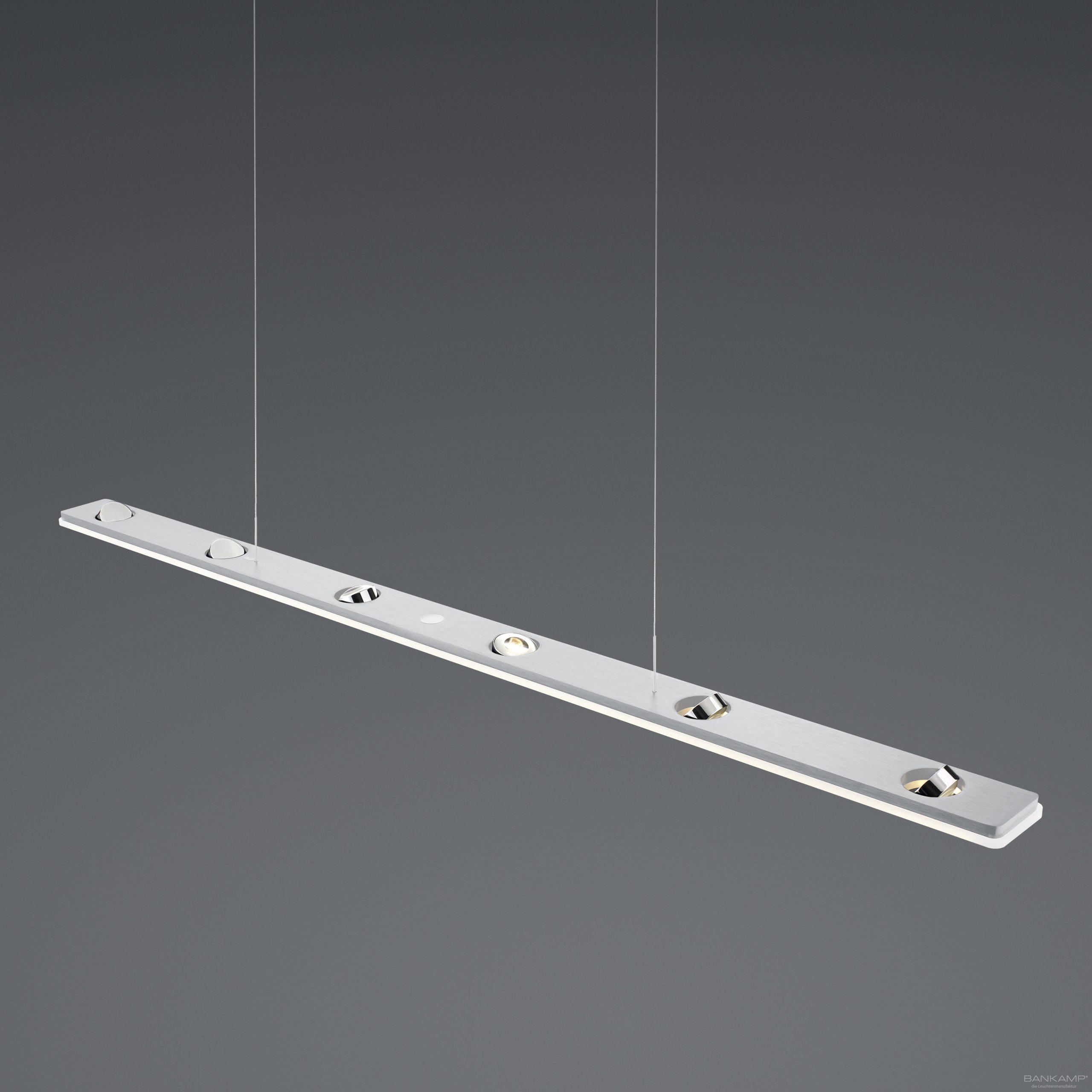 Hanglamp Bankamp Caro Aluminium Met Chroom