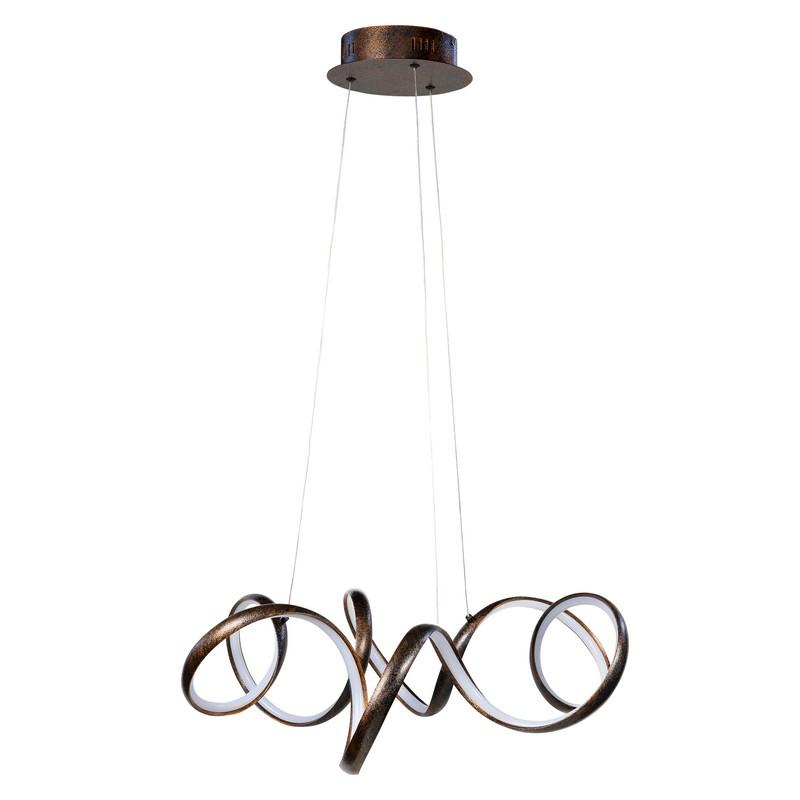Hanglamp Highlight Arte Antiek Bruin Led