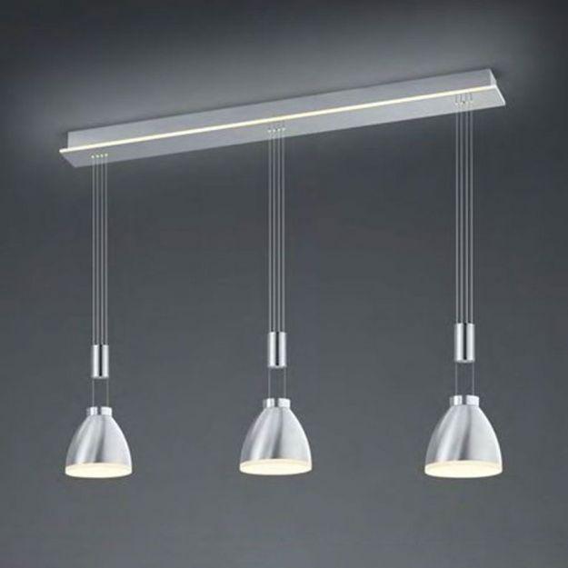 Hanglamp B-Leuchten By Bankamp Leni Staal Met Indirect Licht